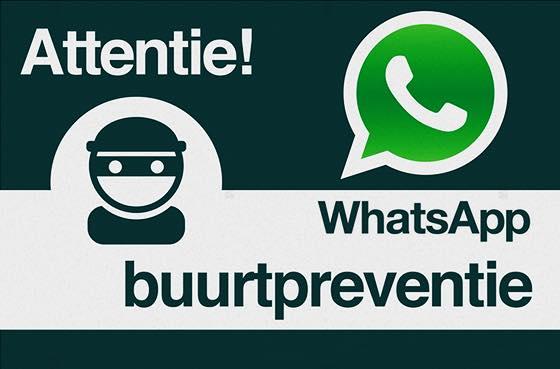 Informatieavond Whatsapp Buurtpreventie
