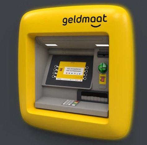 Geldautomaat bij de SPAR